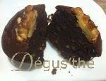 Muffins chocolat et noix sans gluten et sans lactose